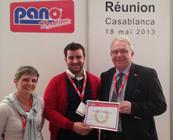 Trophée 2013 – concessionnaire PANO Boutique International de l'année
