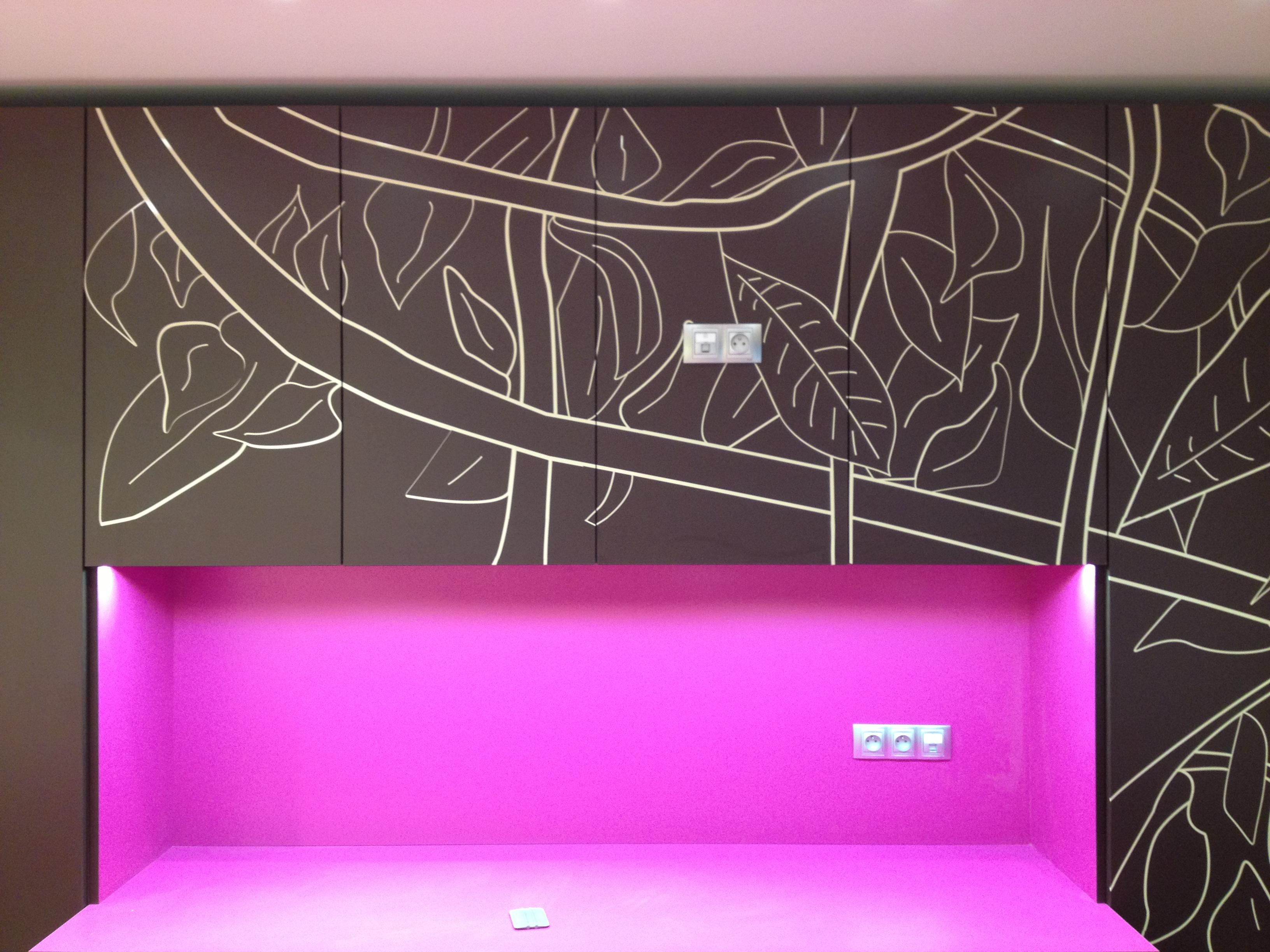 Neon De Decoration Interieur wall decoration - pano