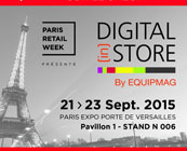 Participation au salon Digital (in) Store Paris 2015