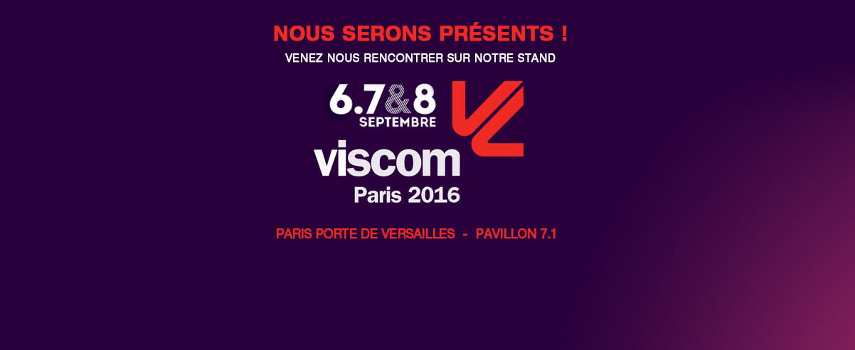 Salon VISCOM 2016