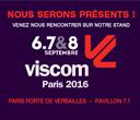 PANO, Experts en signalétique  confirme sa présence sur le salon VISCOM 2016