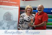 Trophée 2018 concessionnaire PANO France