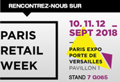 Paris Retail Week du 10 au 12 septembre 2018