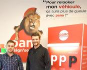 Les experts en signalétique PANO s'installe à Lens